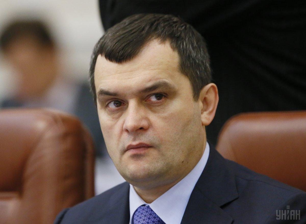 Суд избрал меру пресечения в виде содержания под стражей экс-министру внутренних дел Виталию Захарченко / фото УНИАН