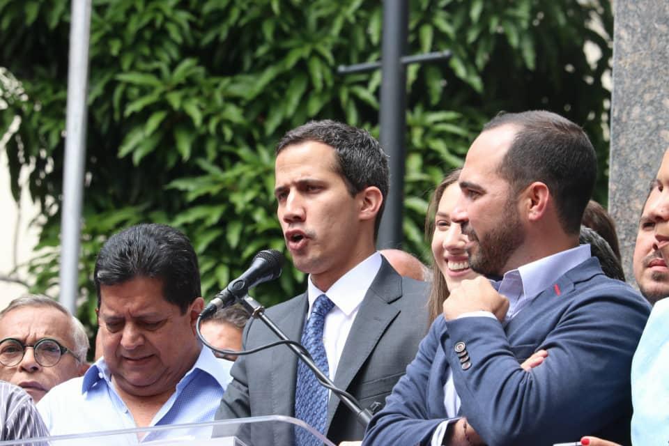 Ключевая страна ЕС признала Гуайдо временным президентом Венесуэлы / фото twitter/jguaido