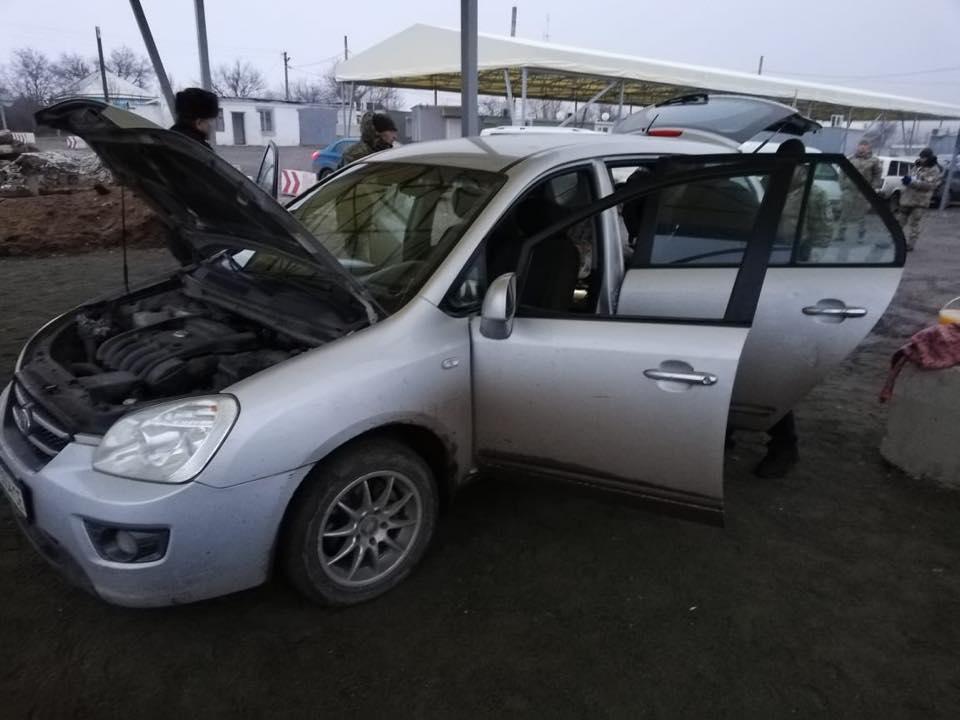 Водитель и автомобиль задержаны / фото facebook/oleh.slobodyan