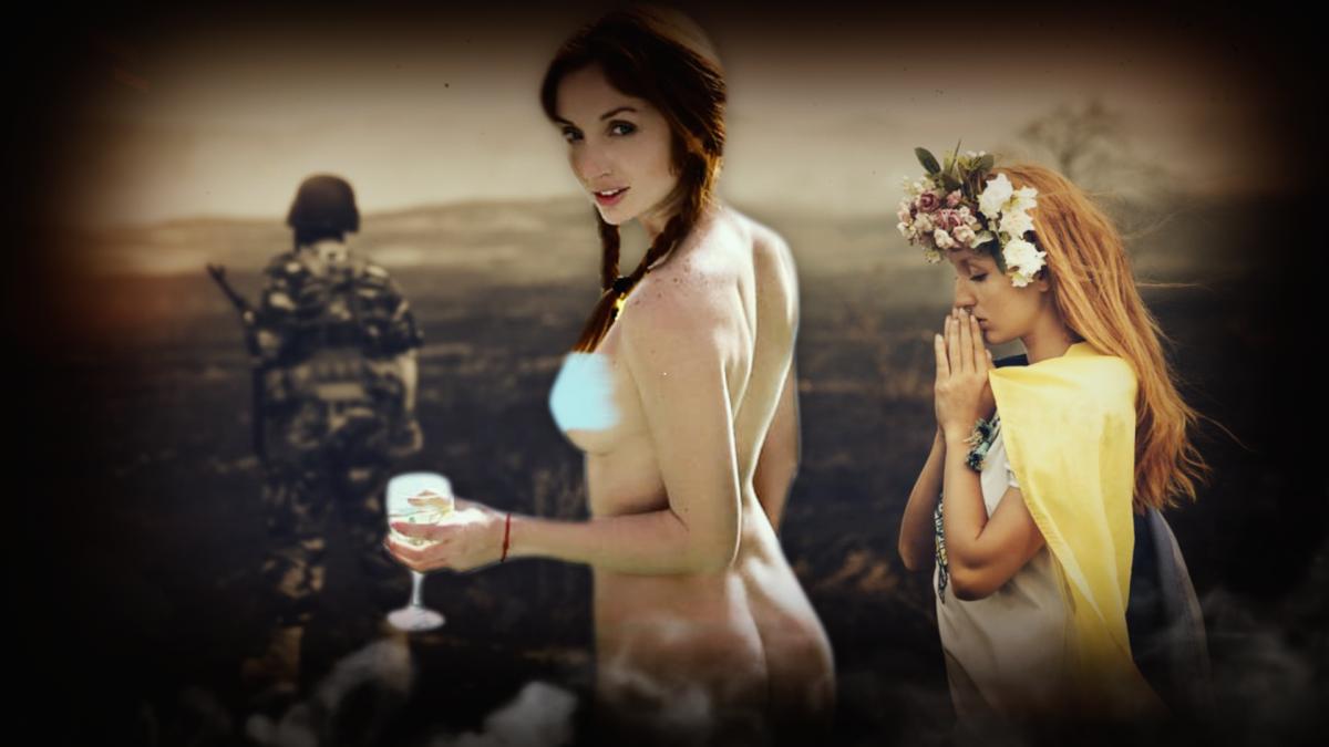 Відома порнозірка Наташа Значенко, відома як Ред Фокс, знімається не лише в порно, а й в патріотичних роликах