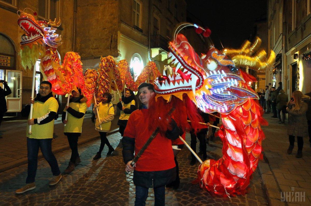 На конец января также припадает китайский Новый год / фото УНИАН