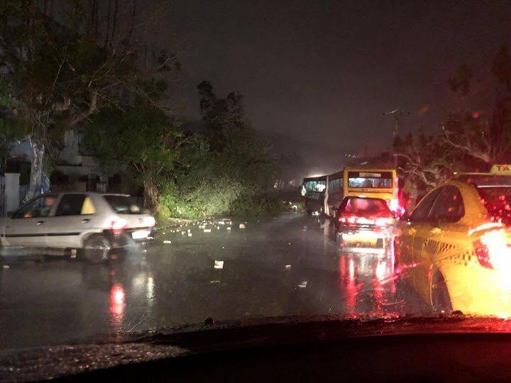 Последствия урагана в Гаване / twitter.com/asubit
