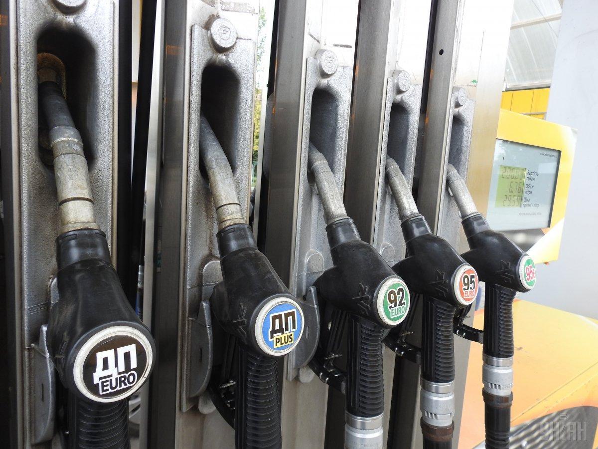 Бензин дешевеет / фото УНИАН