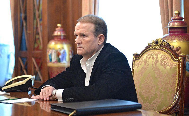 Медведчук займається питаннями звільнення полонених / фото Wikimedia Commons