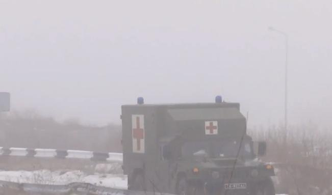 Paramedics have evacuated one dead and two wounded soldiers in the past day / Screenshot