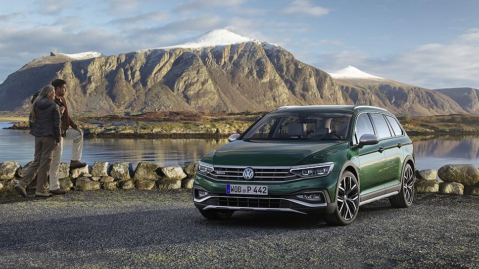 В оснащение Volkswagen Passat вошли системы активной безопасности \ Volkswagen Passat Alltrack. Фото: Volkswagen