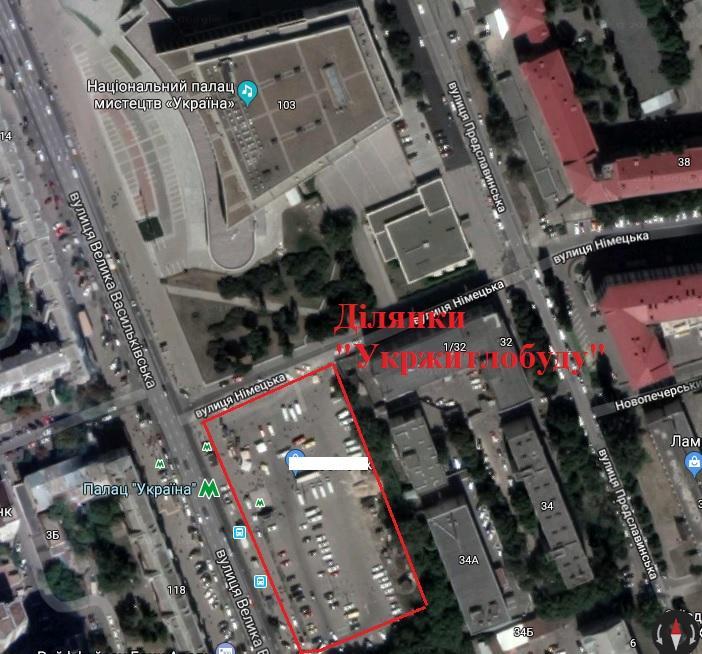 Строительство запланировано прямо у входа в метро / nashigroshi.org