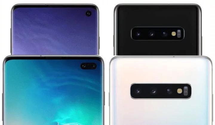 Модель Galaxy S10e будет отличаться от своих старших собратьев плоским экраном / фото winfuture.de