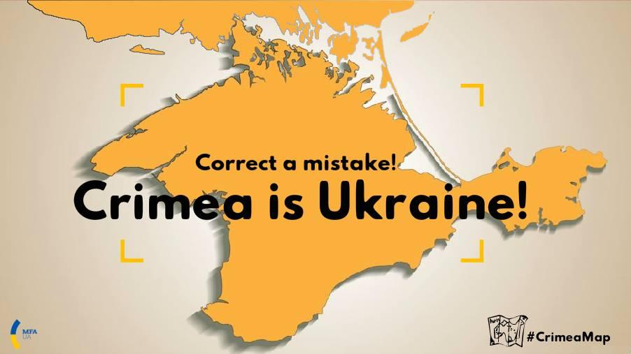 «Местные выборы» в Крыму не признает ни Украина, ни мир / фото facebook.com/ambassadeukraineenfrance