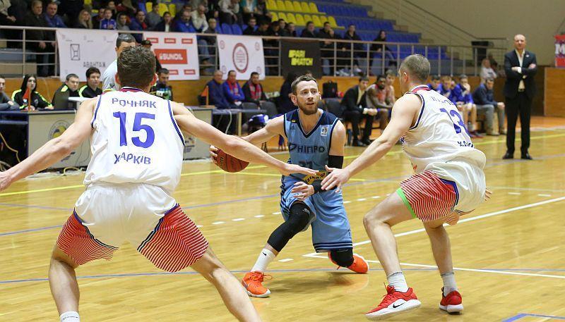Баскетболісти Дніпра не зуміли впоратися з суперниками з харкіського Політехніка / fbu.ua