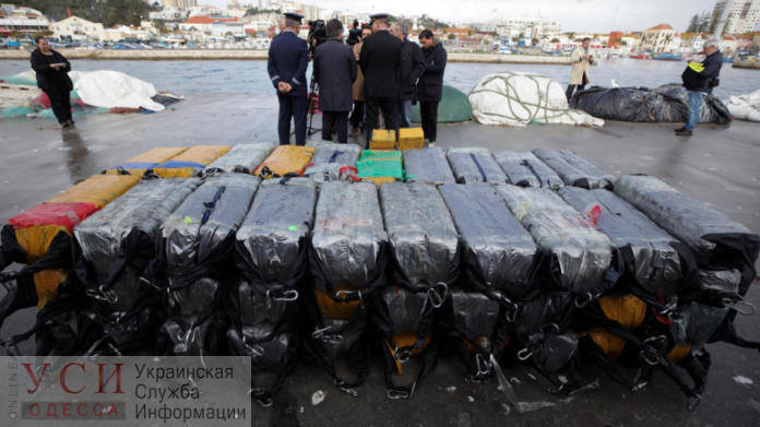 The seized batch of drugs is estimated at EUR 500 mln / Photo from USI