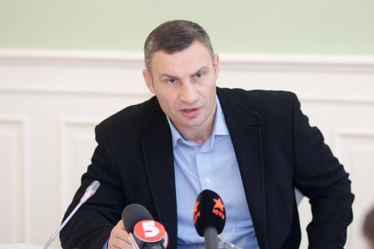 Виталий Кличко во время сессии Киеврады / Фото kiev.klichko.org