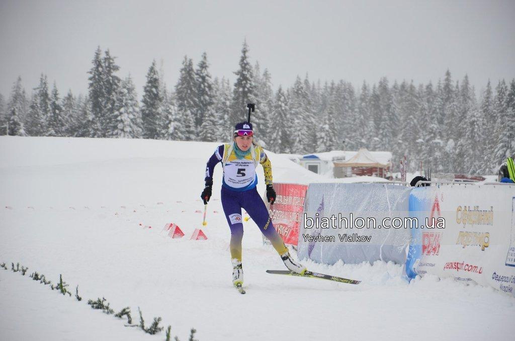 Анастасия Рассказова будет выступать за сборную Украины / biathlon.com.ua