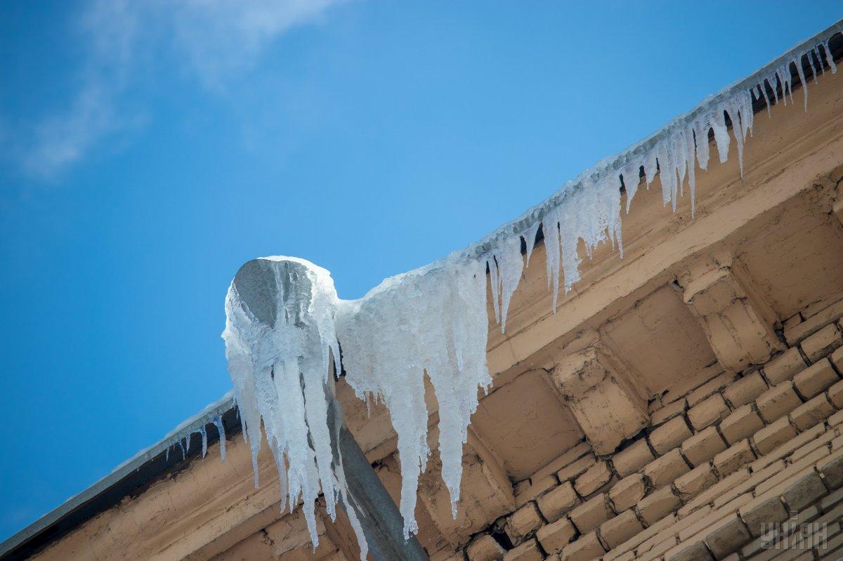 Брила льоду вбила дитину / фото УНІАН