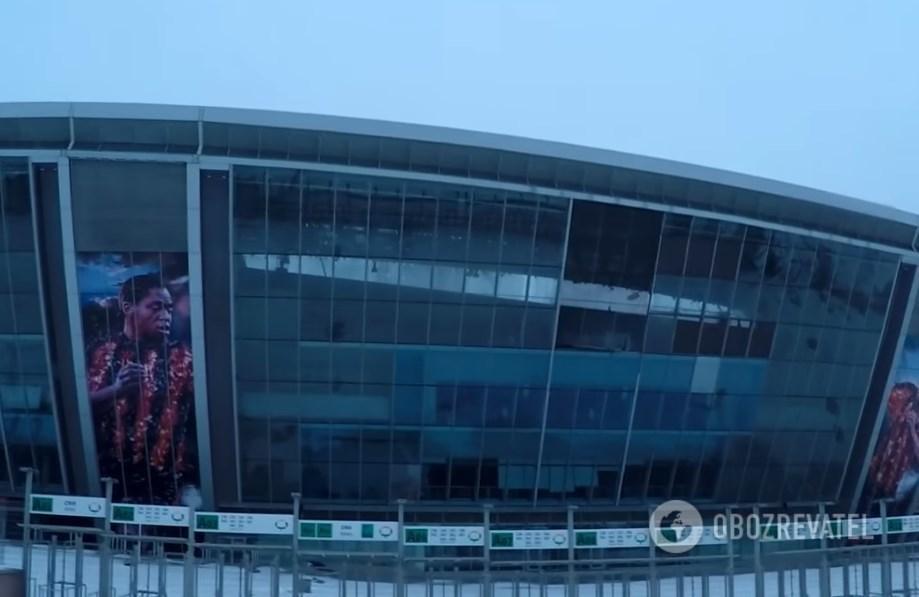 В Донецке ужаснули фото и видео ''Донбасс Арены'' / фото Обозреватель