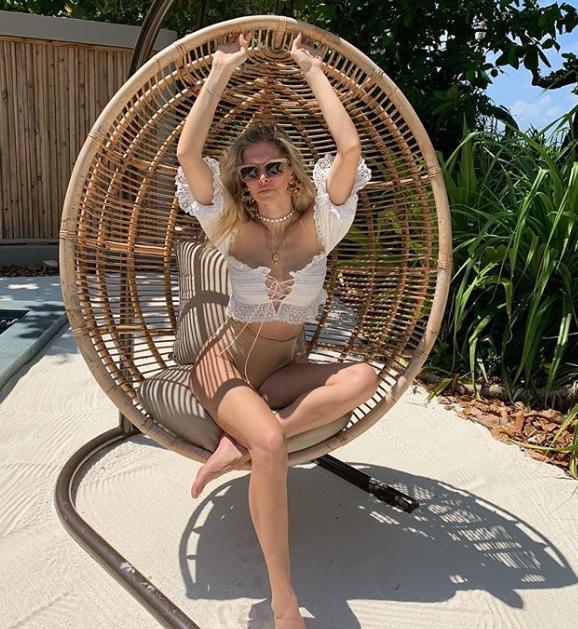 Брежнева отдыхала на Мальдивах / фото instagram.com/ververa