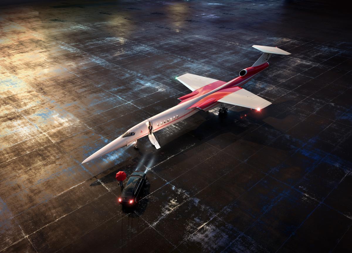 Запервый год серийного производства Aerion планирует собрать 12 самолетов AS2 / фото aerionsupersonic.com