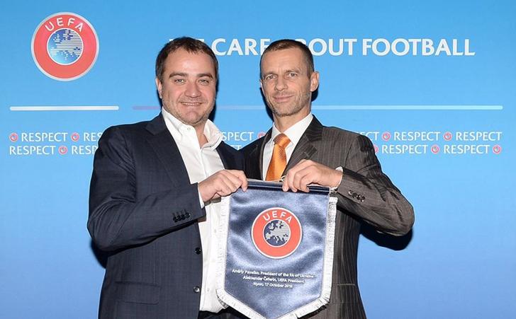 Павелко увійшов до Виконкому УЄФА, президентом якого є Чеферін / ffu.ua