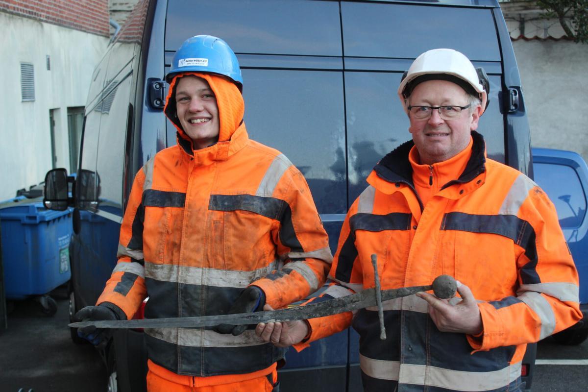 В Данії під час будівельних робіт знайшли меч XII століття / Фото nordmus.dk