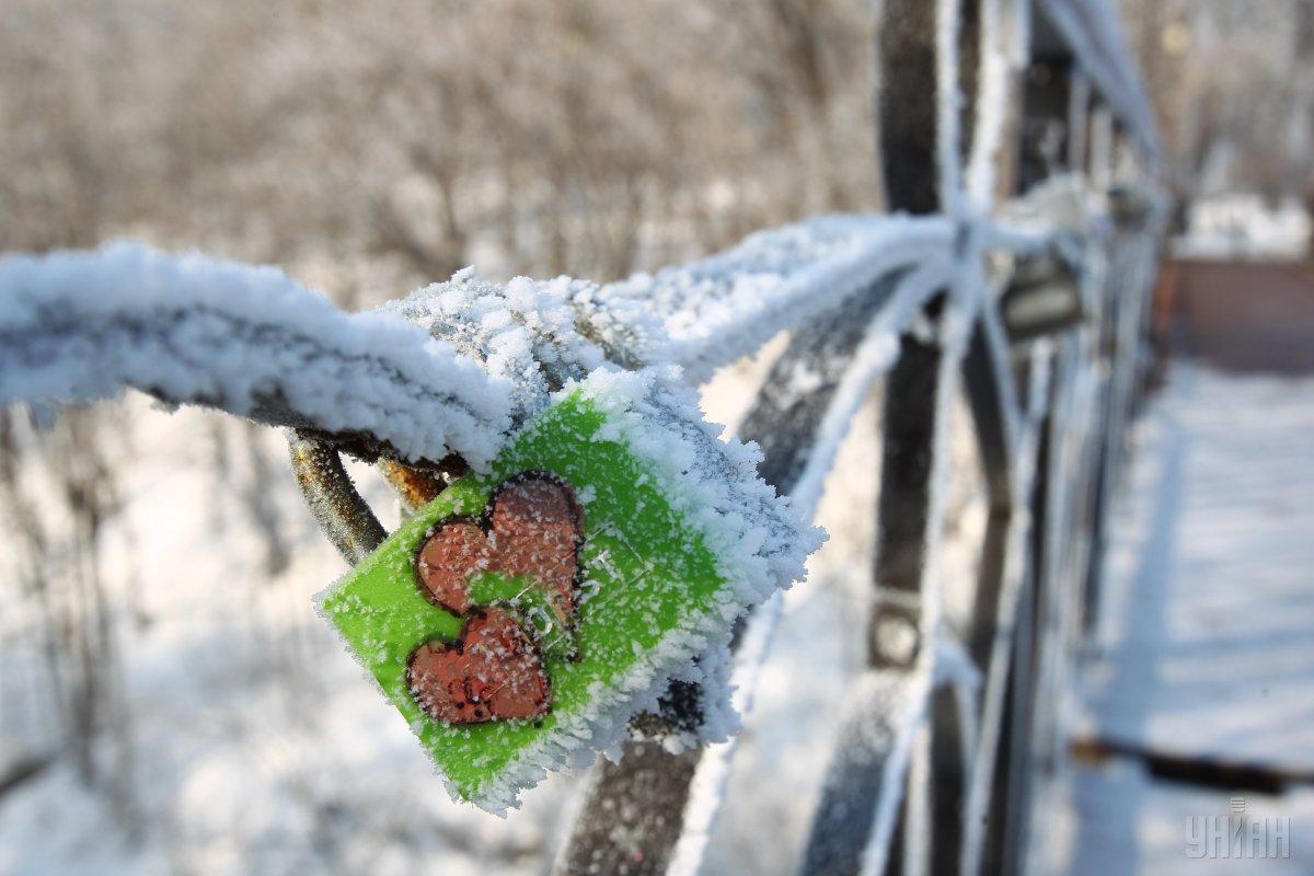 Мост влюбленных - одно из лучших места для дня святого Валентина / фото УНИАН