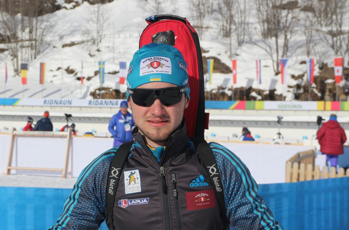 Тарс Лесюк занял 32-е место в индивидуальной гонке этапа Кубка мира / biathlon.com.ua