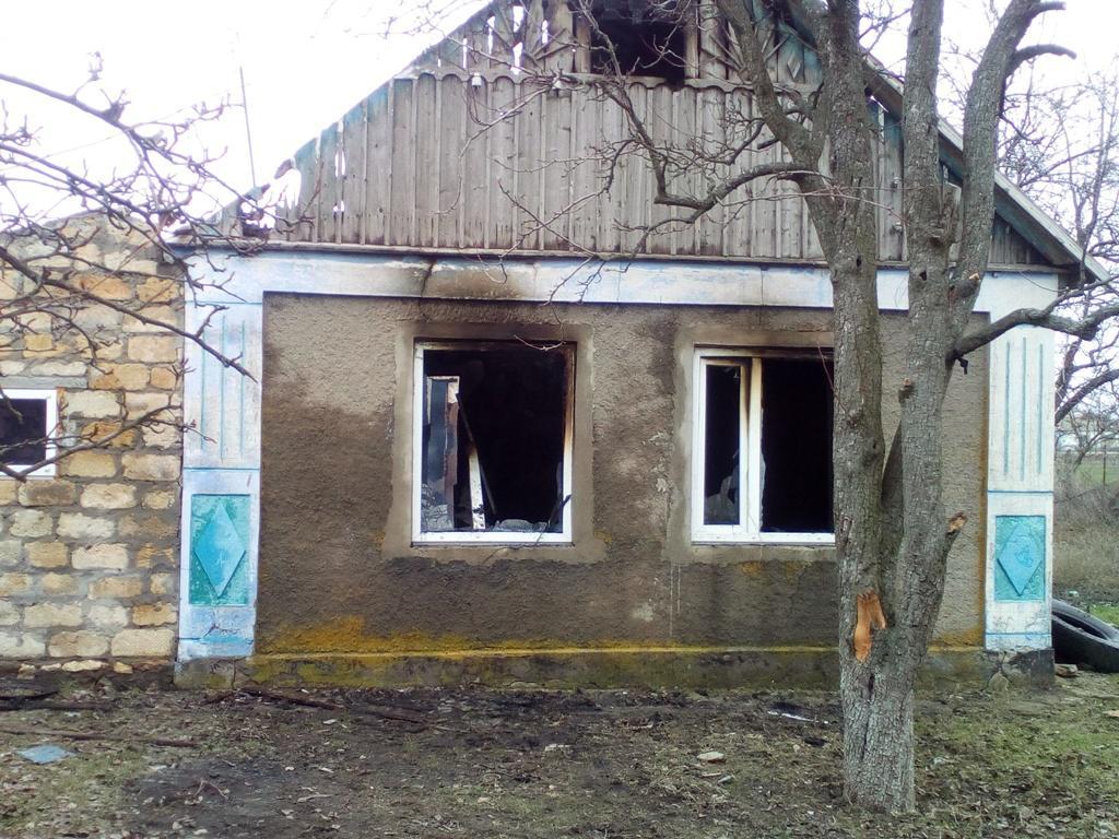 На пожежі у Херсонщині загинуло двоє дітей / фото ks.dsns.gov.ua
