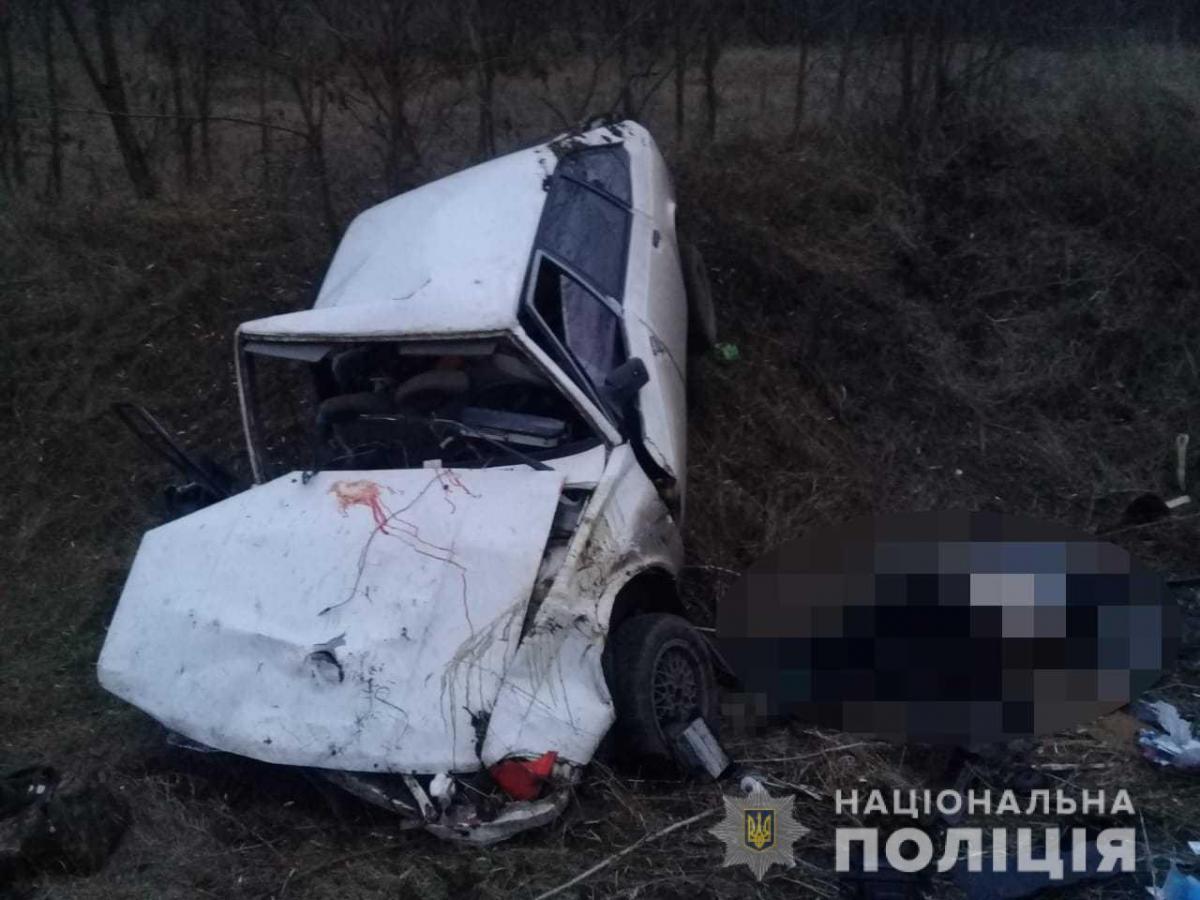 На Одещині злочинці потрапили у ДТП одразу після пограбування / фото od.npu.gov.ua
