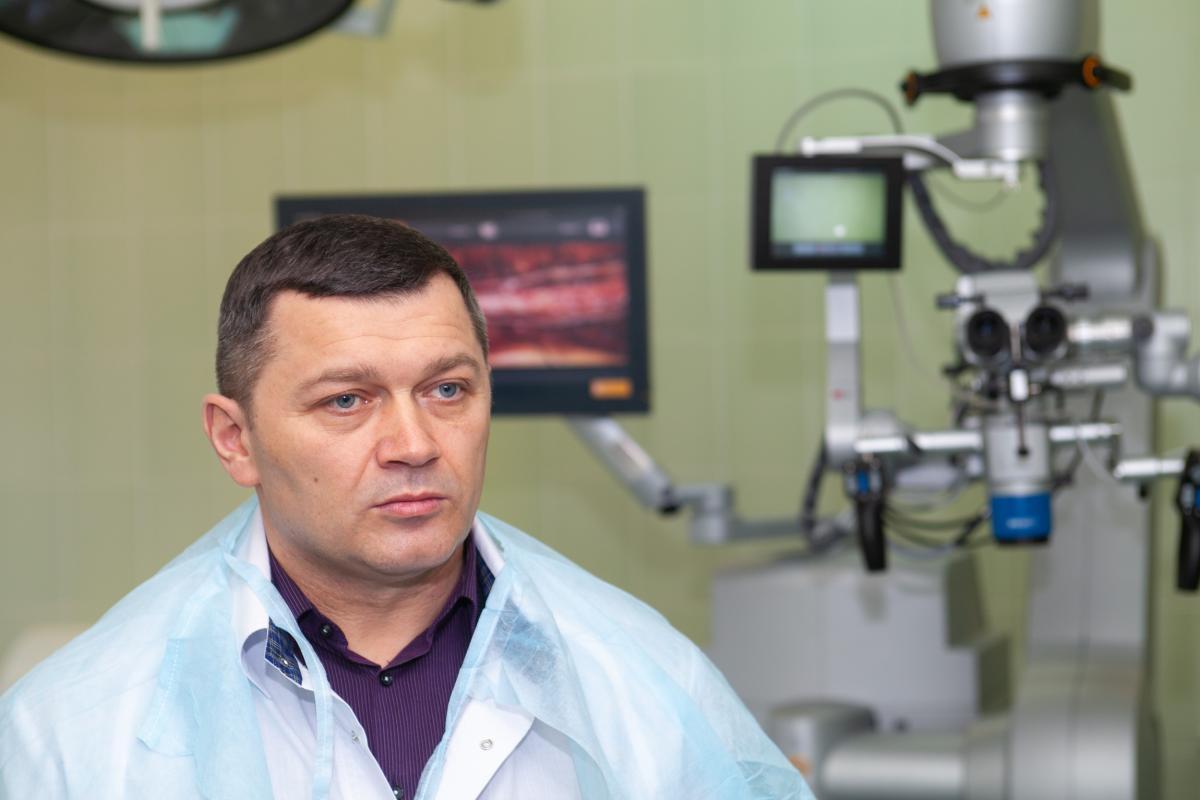 Микола Поворозник окремо наголосив, що аналогічного обладнання в Україні немає / фото kyivcity.gov.ua