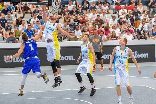 На ЧЕ-2017 мужская сборная Украины в матче за «бронзу» обыграла команду Сербии / фото fbu.ua