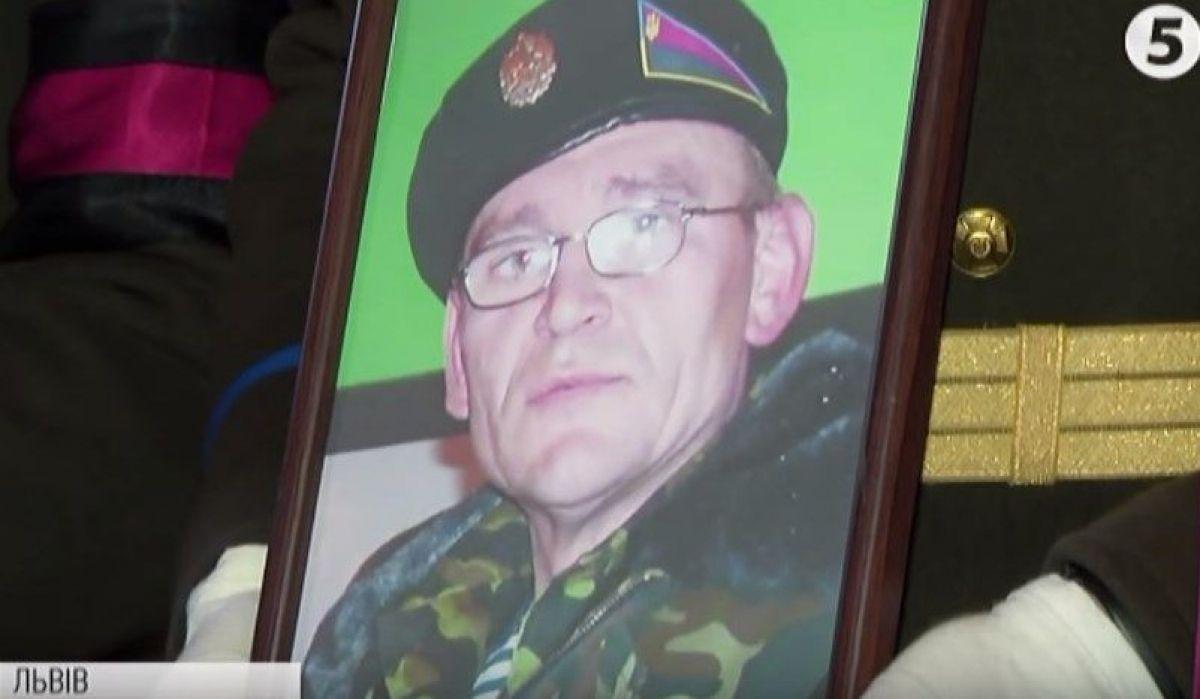 Похоронили воина на Лычаковском кладбище / Скриншот