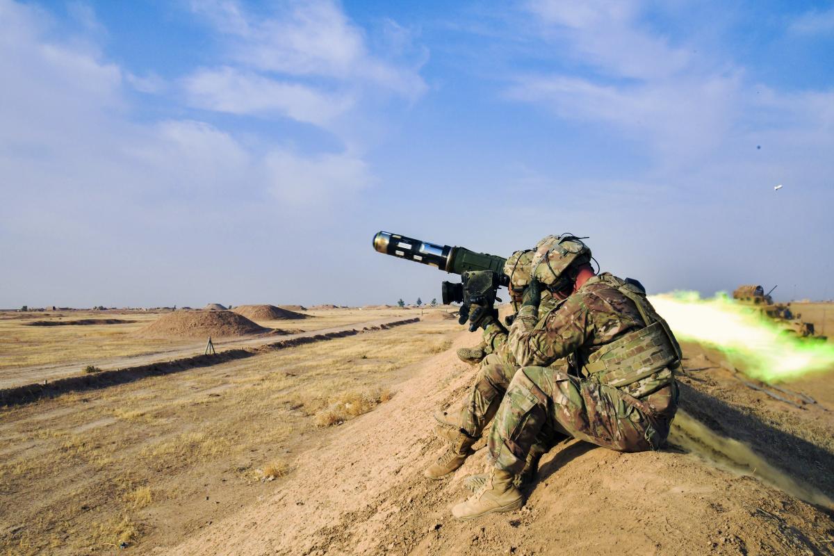 Javelin загрожуєосновнимбойовимтанкам/ фото defense.gov / Army 2nd Lt. Jamie Douglas