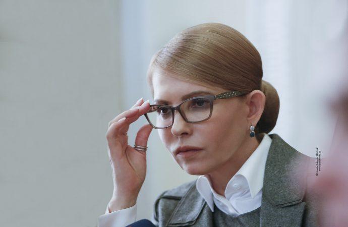 Тимошенко обурилась тим, що чинний президент застосовує брудні технології напередодні виборів / Photo by Alexander Prokopenko