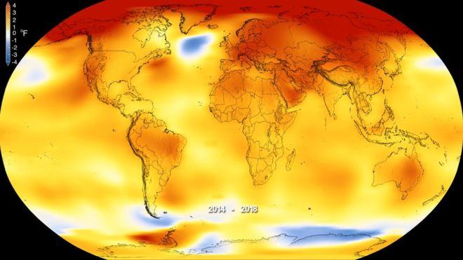 Прогнозується глобальне потепління / фото NASA