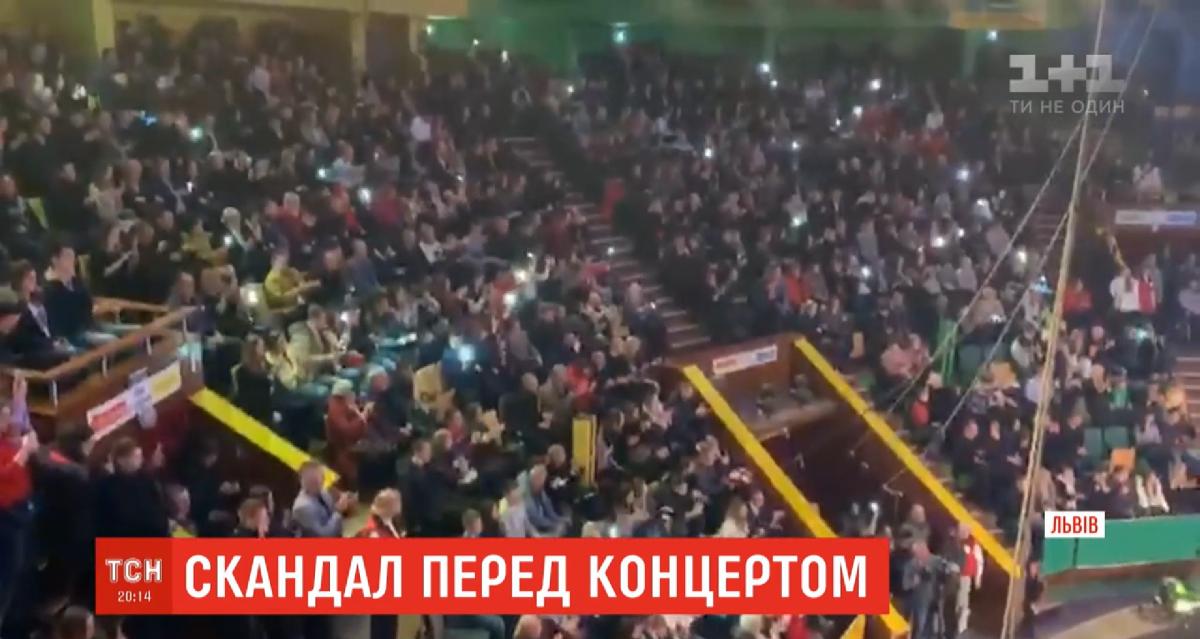 Зустріч з львів'янами у Зеленського пройшла тепло / скріншот