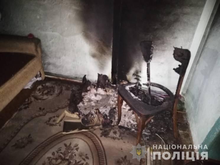 Мать обнаружила задымление в доме и детей без признаков жизни / фото пресс-служба полиции