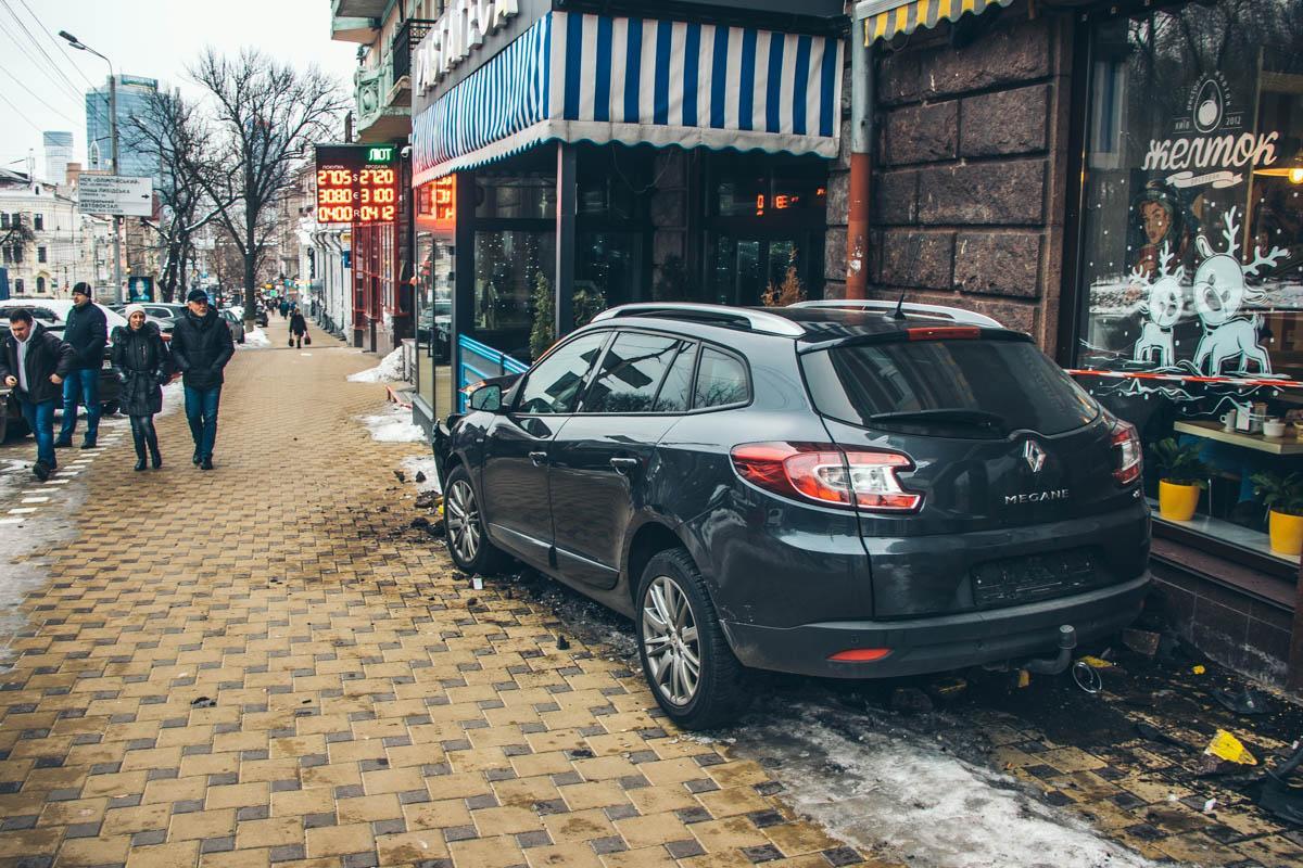 ДТП в центре Киева / kiev.informator.ua
