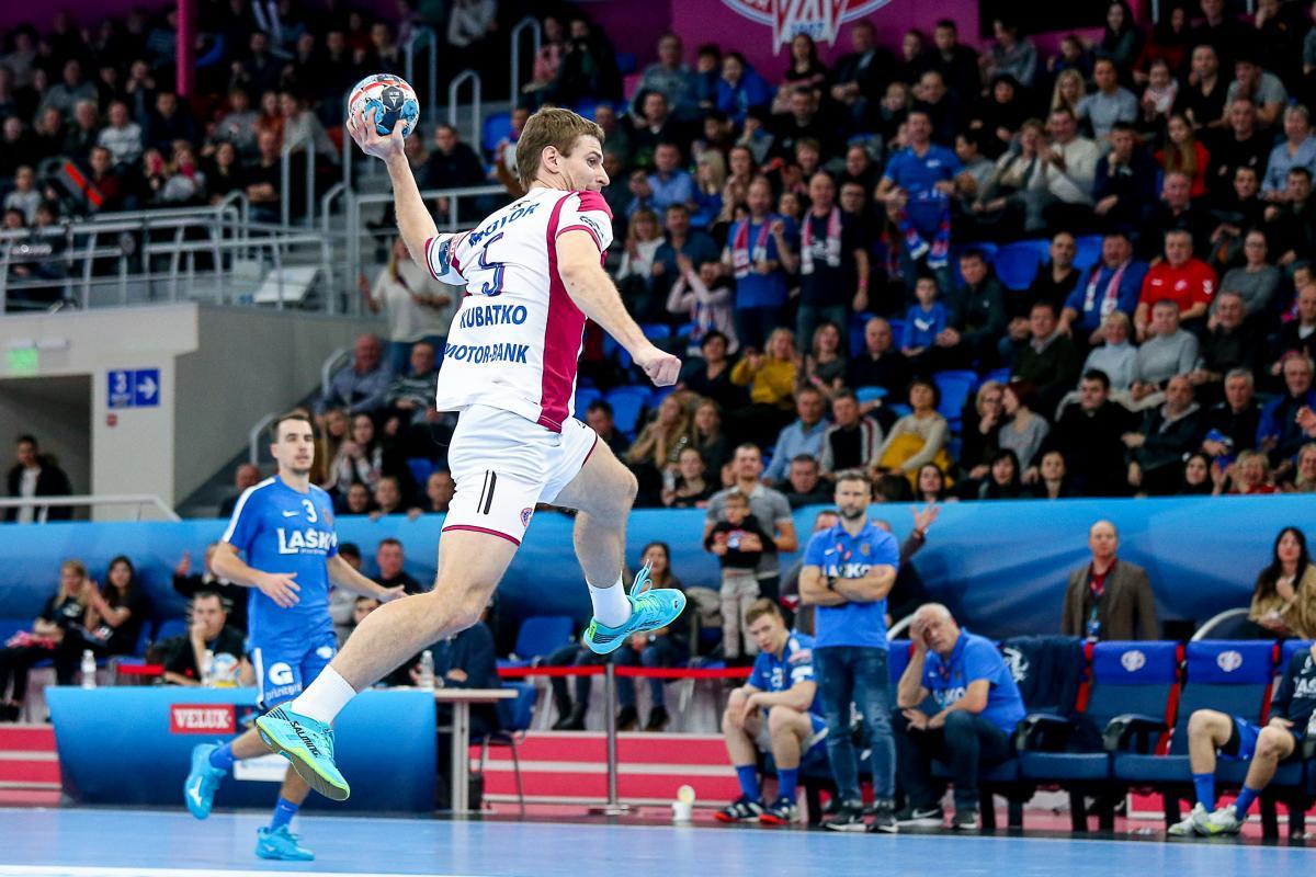 Мотор виграв важливий матч Ліги чемпіонів у німецького Фленсбурга / handball.motorsich.com