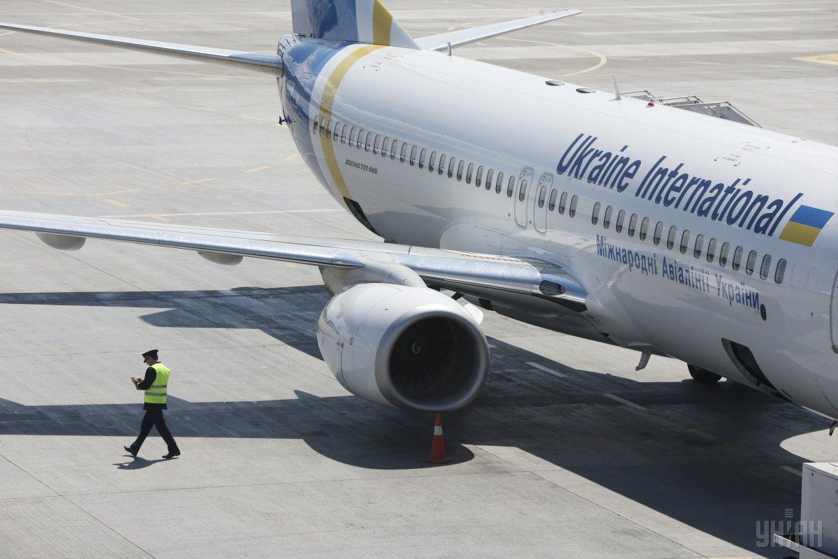 Рейс PS354 Афіни-Київ відкладений до 15.00 11 лютого / фото УНІАН