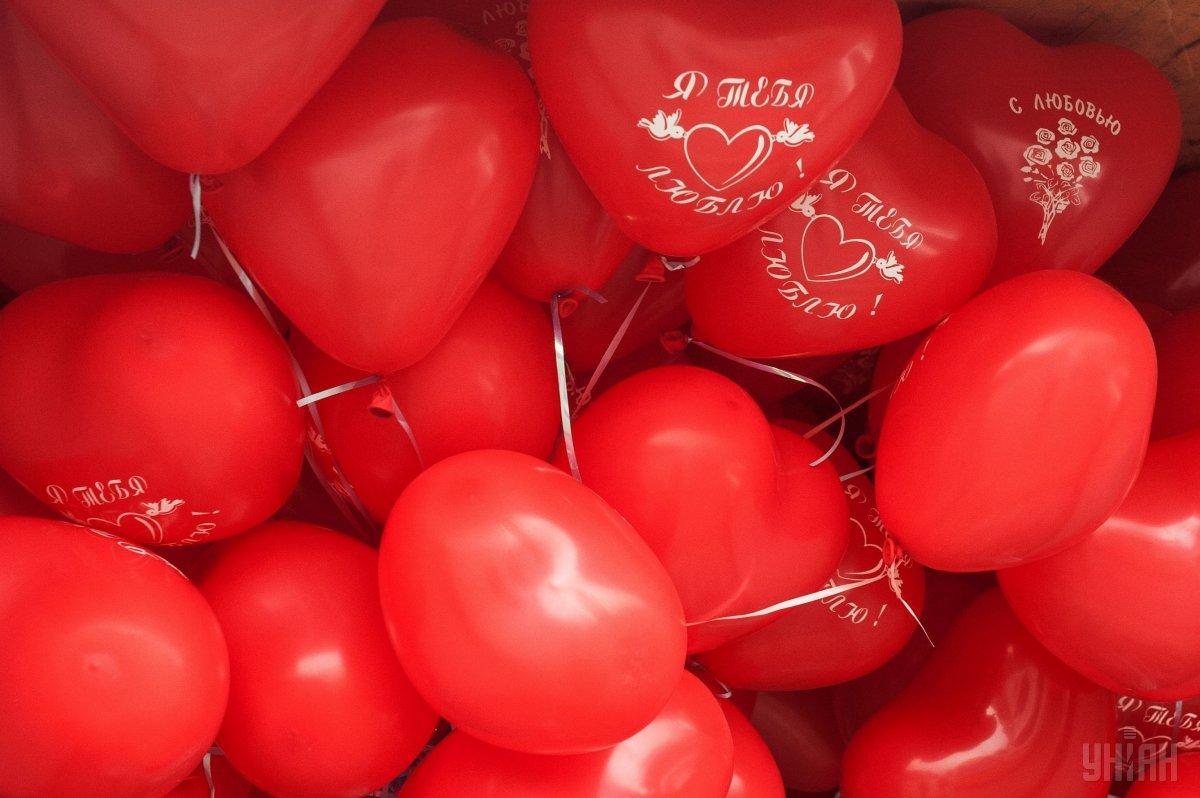 День Валентина празднуется 14 февраля / фото УНИАН
