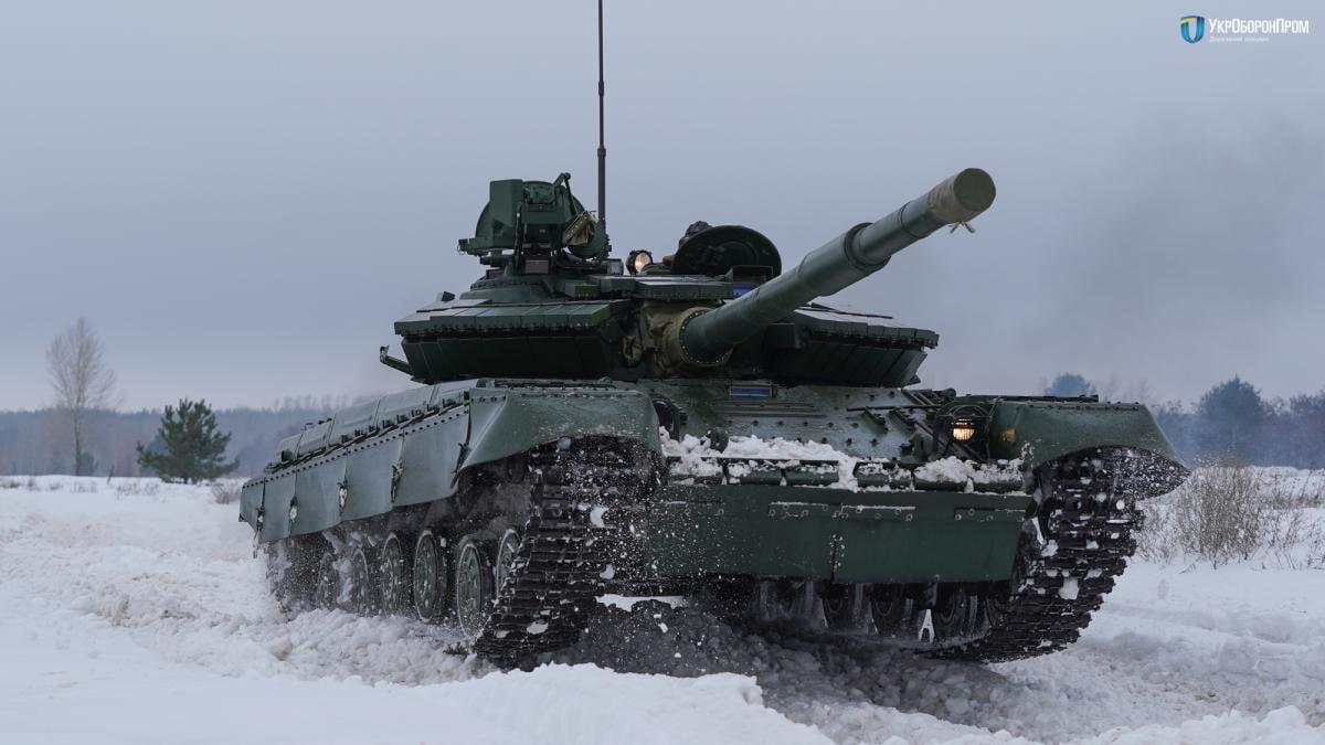 Т-64 -основнабойовамашинабронетанкових підрозділів українського війська/ фото Укроборонпром