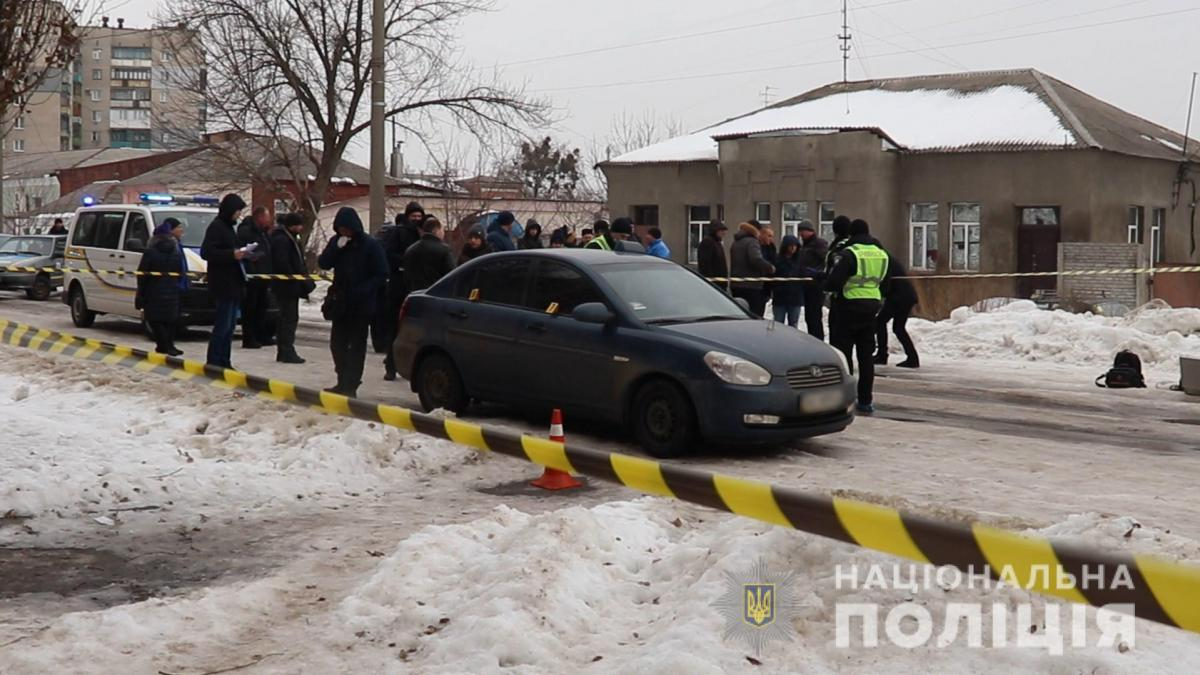 Водителю такси было 55 лет / фото пресс-служба полиции Харьковской области