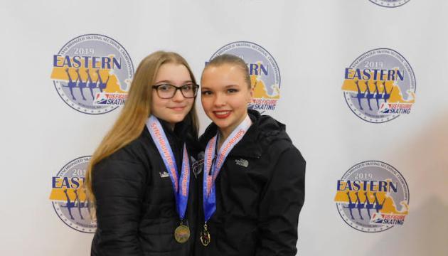 Сестри Борсук вибороли в США дві медалі й відібралися на національний чемпіонат