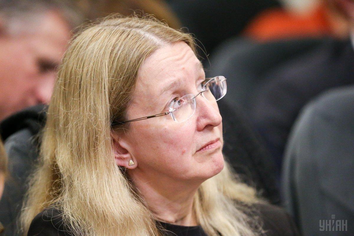 5 лютого Уляні Супрун тимчасовозаборонили виконувати обов'язки міністра охорони здоров'я / фото УНІАН