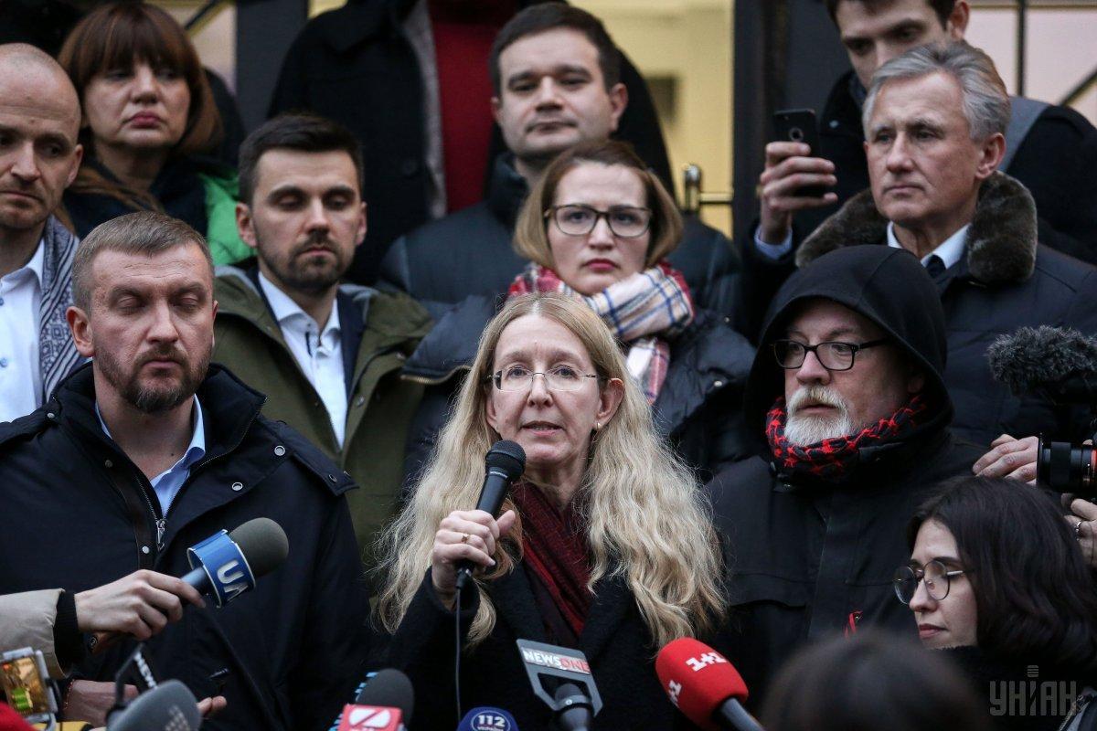 Супрун вимагає, щоб суддя негайно оголосив рішення / фото УНІАН