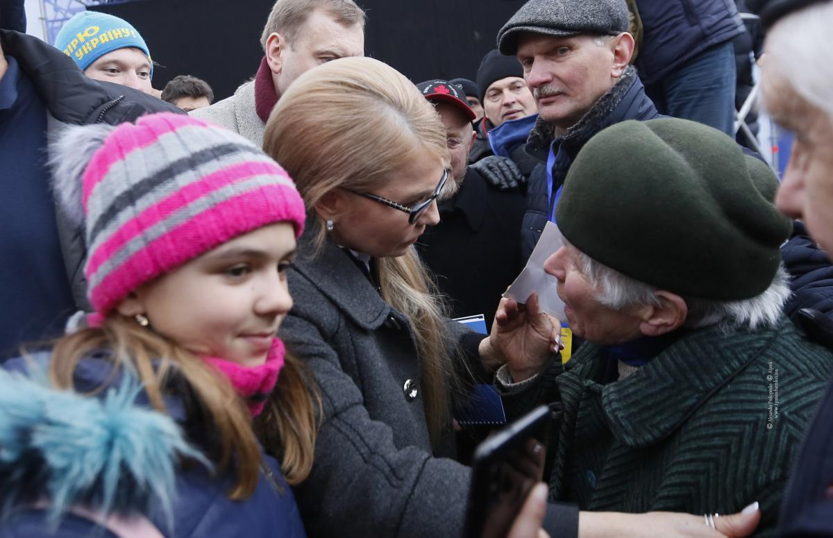 Юлія Тимошенко перебувала з передвиборчою поїздкою по Львівській області / Photo by Alexander Prokopenko