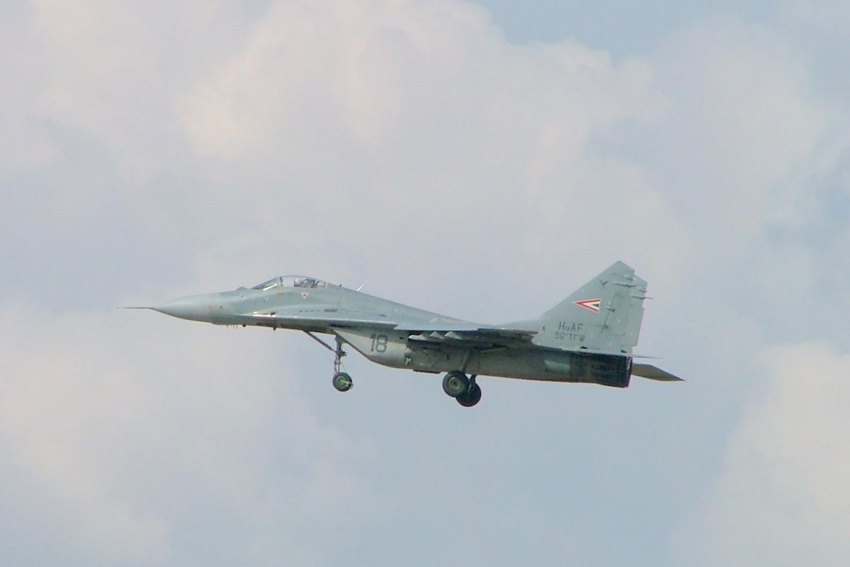 Венгрия решила по дешевке продать все свои истребители МиГ-29 / фото wikipedia.org