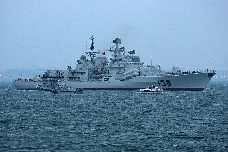Китайский флот стал самым большим в мире / Иллюстрация, фото - Wikipedia