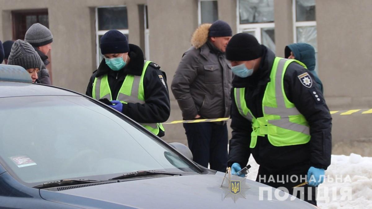 11 лютогочоловік перерізав горло таксисту/ фото прес-служба поліції області