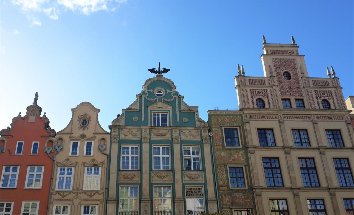 Сказочные домики в Старому городе Гданьска / Фото Марина Григоренко