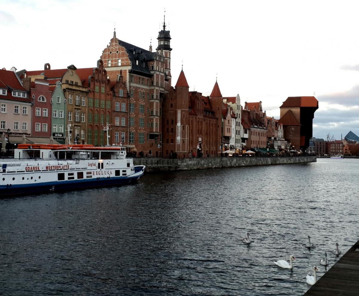 На фестиваль Оpen'er легко дістатися з Гданська / Фото Марина Григоренко